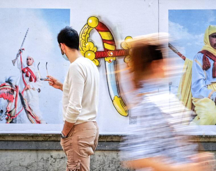 Fantasia, Karim El Maktafi, Other Size Gallery e vie limitrofe. Foto: Ayoub Medhoun
