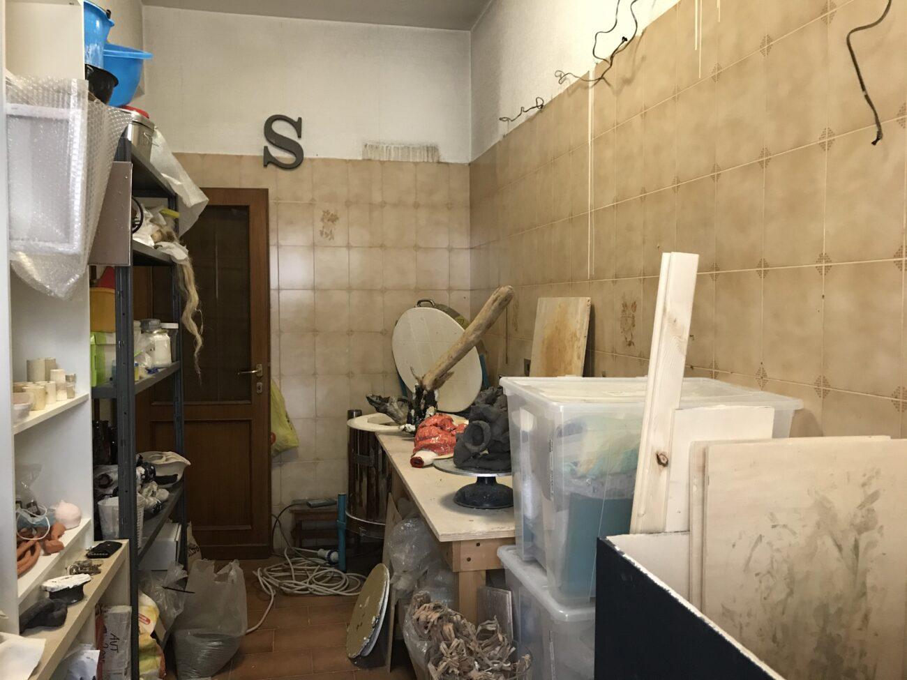 Veduta dello studio di Sabino de Nichilo