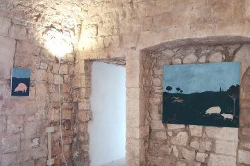 Genius loci, installation view, Domenico Ruccia