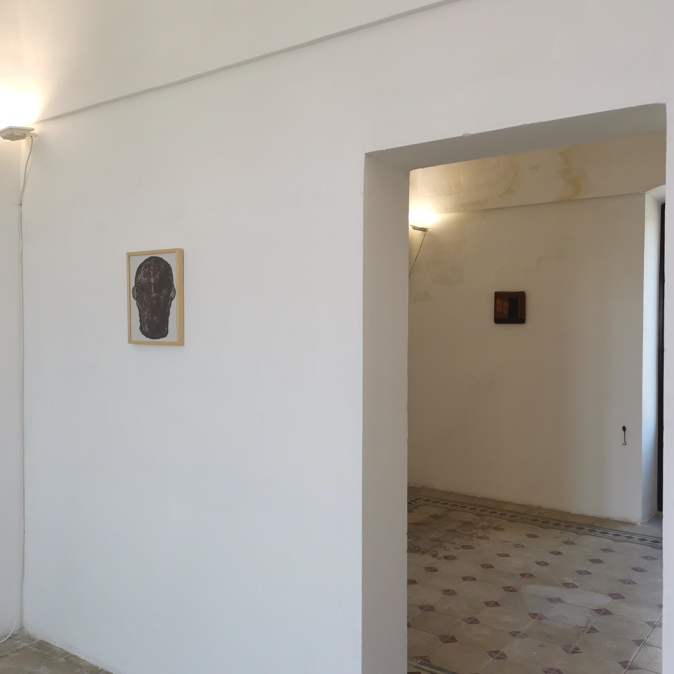 Genius loci, installation view, Fabrizio Riccardi e Damiano Azzizia