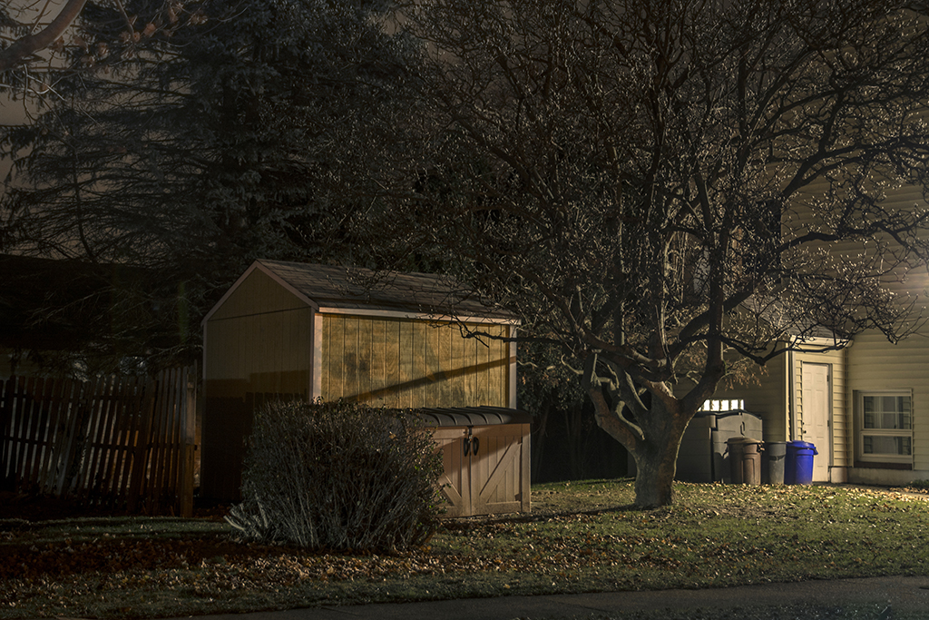 Peter Ydeen, Easton Nights, Back Yard Shed