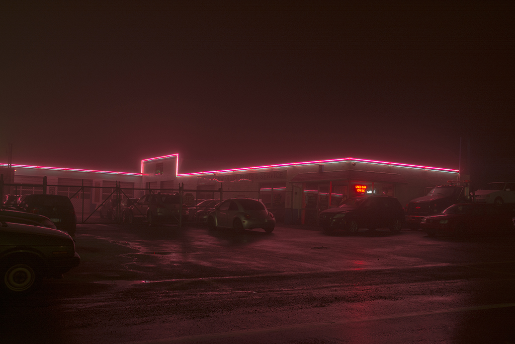 Peter Ydeen, Easton Nights, Pink Line