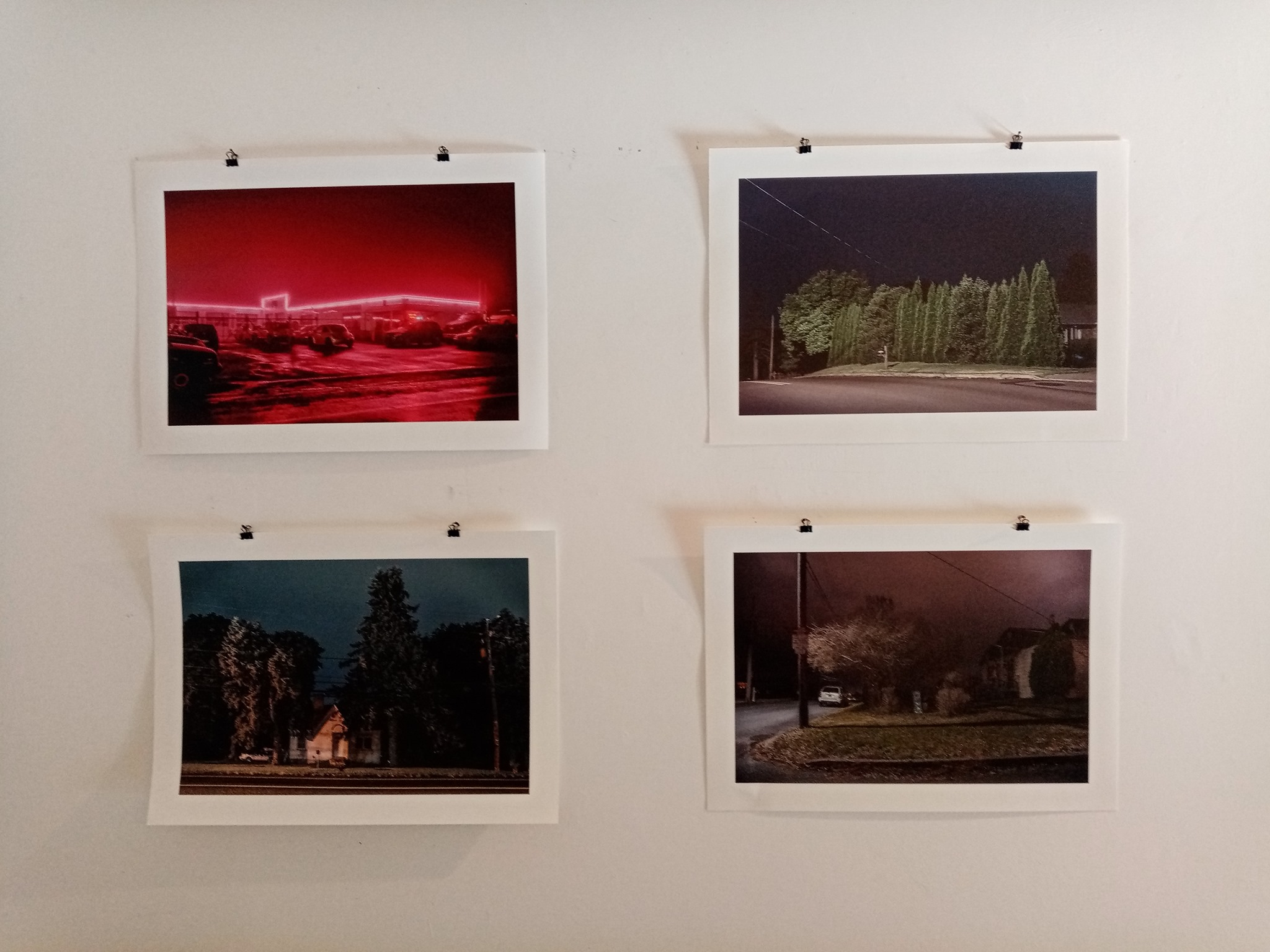 Peter Ydeen, Easton Nights, installation view