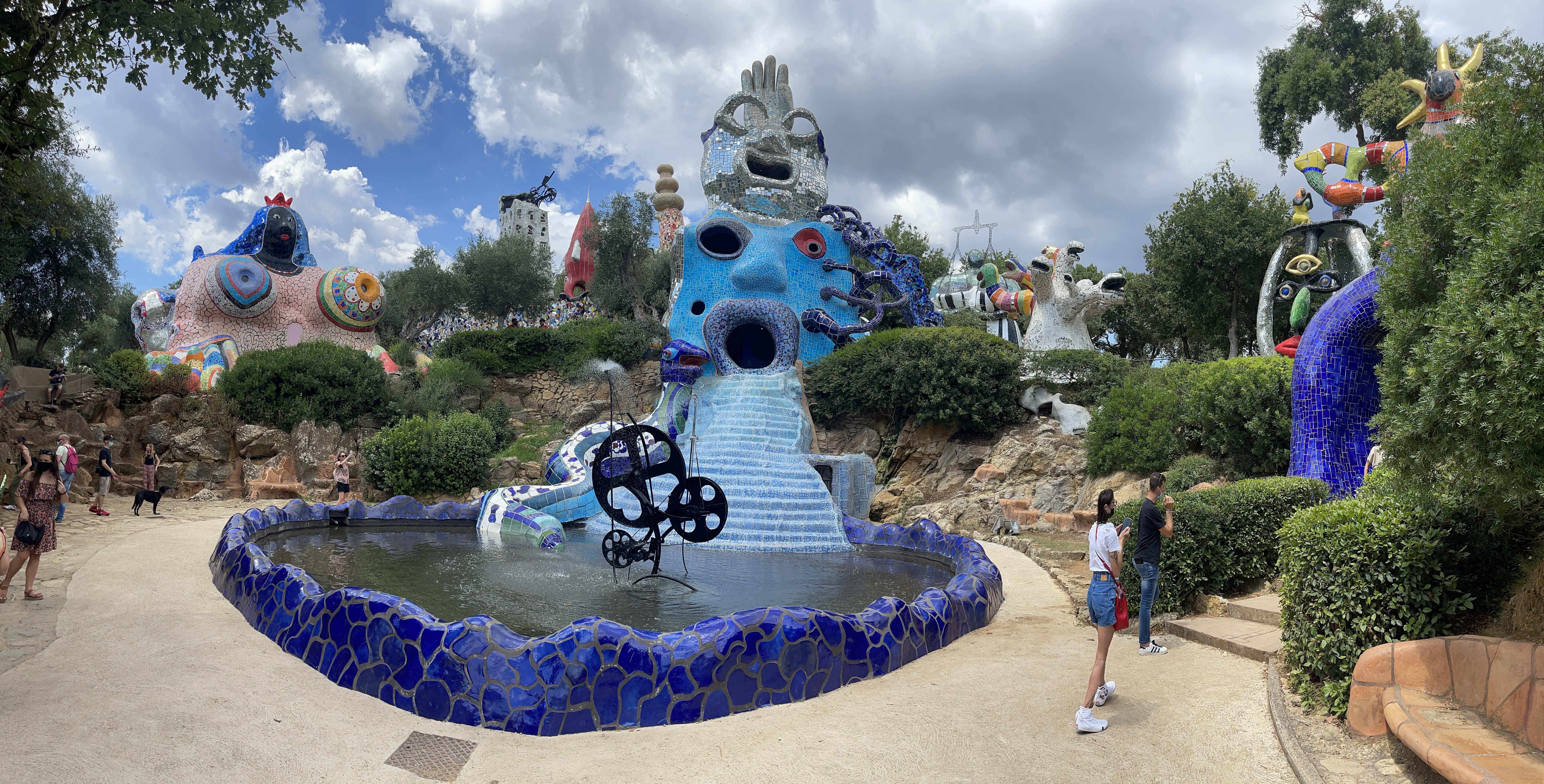 Il Giardino dei Tarocchi di Niki de Saint Phalle