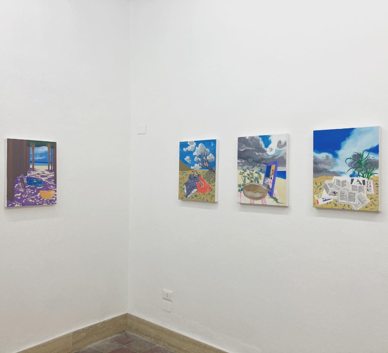 Irene Balia, Summer on a solitary beach, Macca Galleria d'Arte Contemporanea, installation view