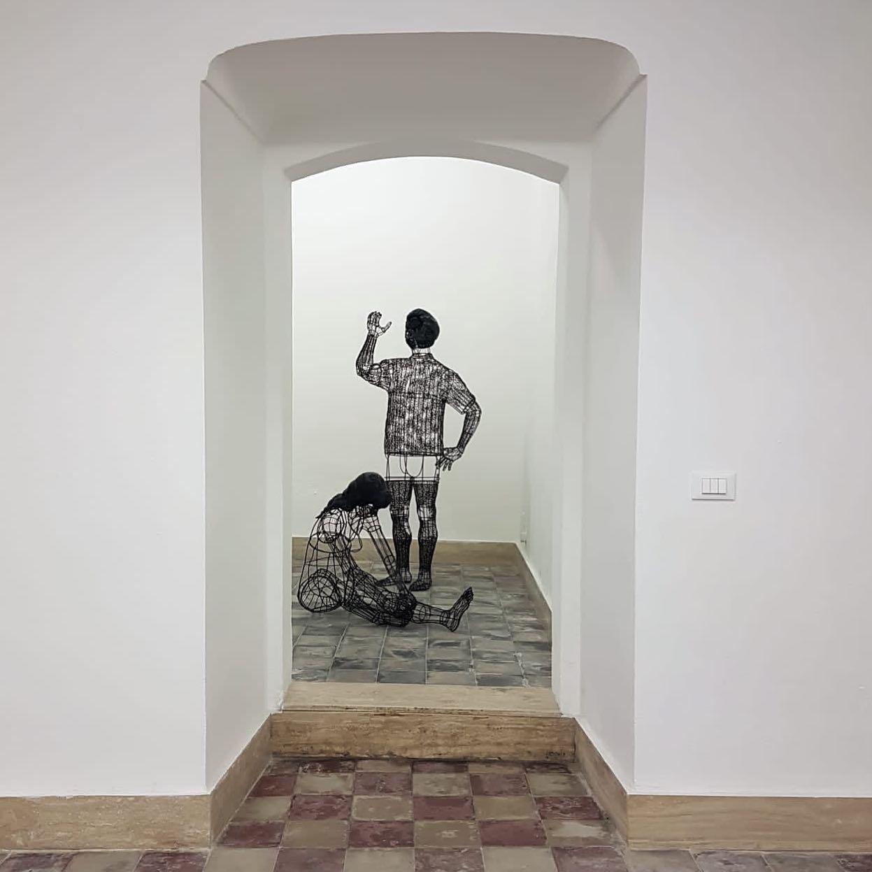 Roberto Fanari, Summer on a solitary beach, Macca Galleria d'Arte Contemporanea, installation view
