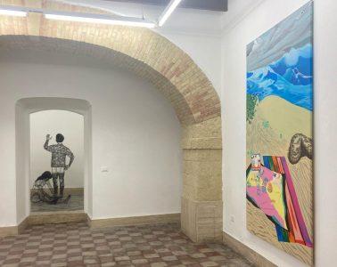 Roberto Fanari e Irene Balia, Summer on a solitary beach, Macca Galleria d'Arte Contemporanea, installation view