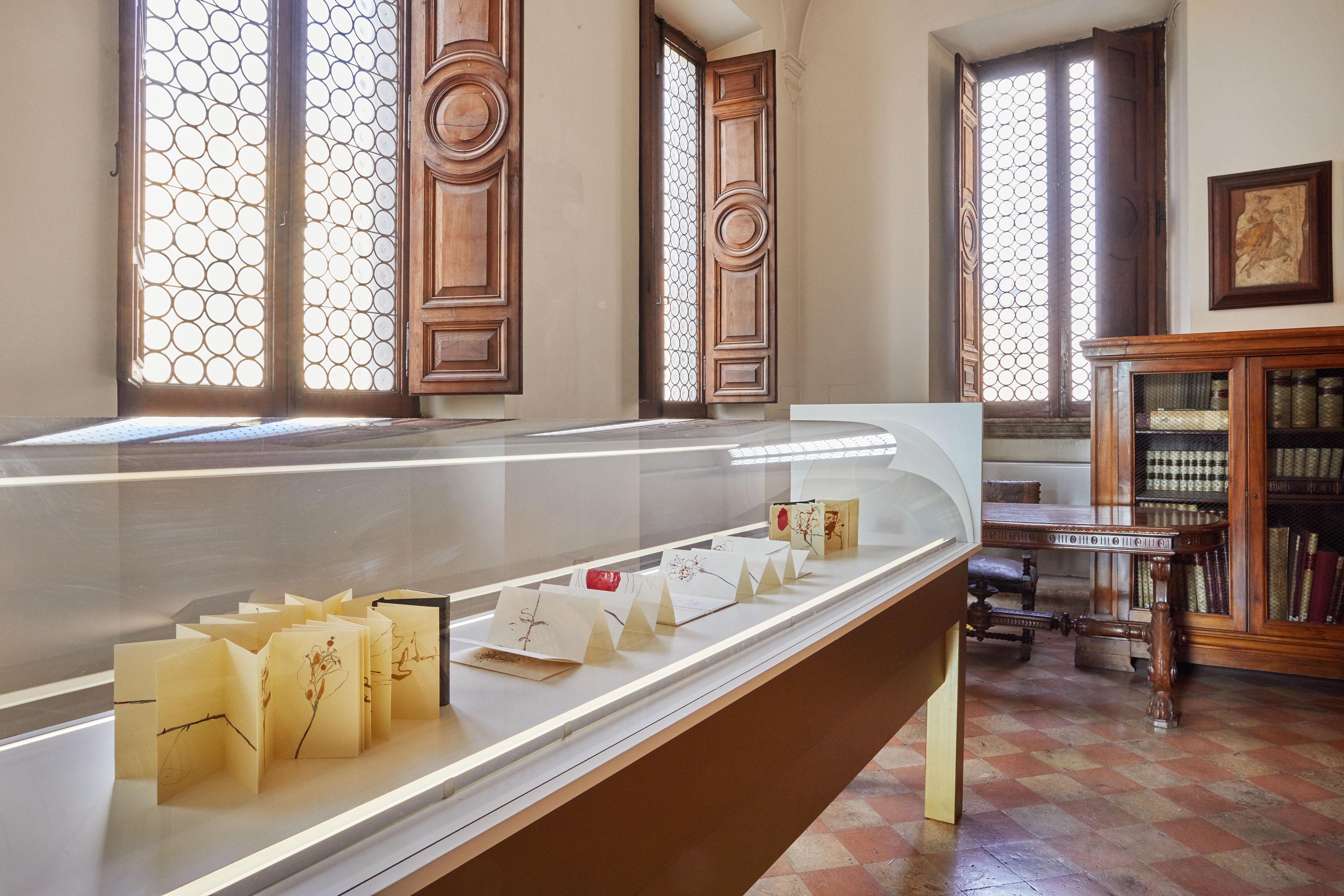 Elisa Montessori, La Vita Nova. L'amore in Dante nello sguardo di 10 artiste, Roma, Museo di Scultura Antica Giovanni Barracco, installation view, ph. Simon d'Exéa